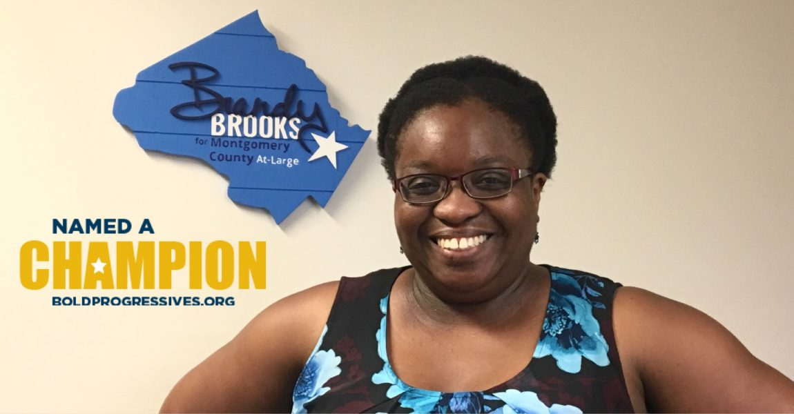 Brandy Brooks Endorsed by State Senator Roger Manno and National Progressive Groups